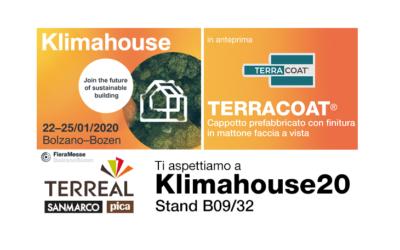 KLIMAHOUSE BOLZANO 2020: TERREAL ITALIA LANCIA TERRACOAT®